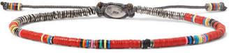 M. Cohen Silver And Vinyl Bracelet
