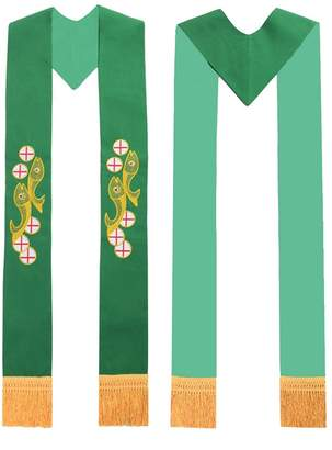Church's Blessume Mass Stole Chasuble Vestments Stole