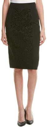 Escada Wool-Blend Pencil Skirt