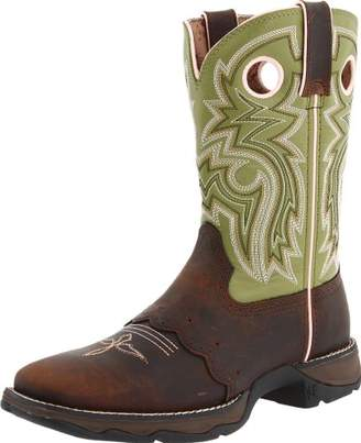 Durango Women's Square Toe Western Boots BROWN 6.5 M