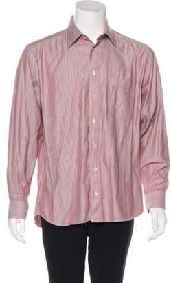 Burberry Herringbone Woven Shirt
