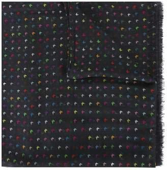 fe-fe butterflies pattern scarf