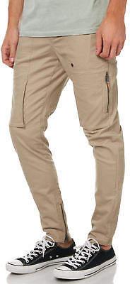 Zanerobe New Men's Blockshot Mens Chino Pant Cotton Mesh Elastane Natural