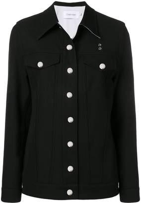 Calvin Klein structured denim jacket