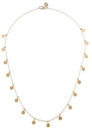 Me & Ro Me&Ro Multi Discs Chain Station Necklace