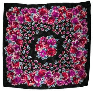 Ungaro Printed Knit Scarf