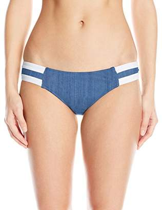 Seafolly Women's Block Party Spliced Hipster