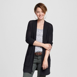 Mossimo Supply Co. Women's Open Layering Cardigan - Mossimo Supply Co. (Juniors') $24.99 thestylecure.com
