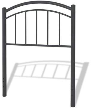 Leggett & Platt Rylan Metal Kids Headboard, Black Ink Finish, Full