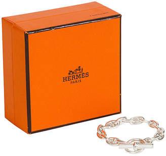 One Kings Lane Vintage HermAs Sterling Chaine d'Ancre Bracelet - Vintage Lux