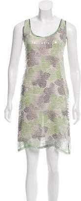 Tory Burch Sequin Silk Dress