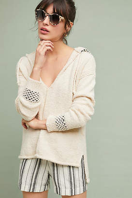Anthropologie Beachbound Hooded Pullover