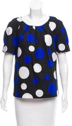Michael Kors Short Sleeve Polka Dot Shirt