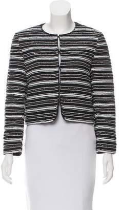 Alice + Olivia Structured Sequin Jacket