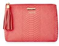 GiGi New York All In One Embossed Leather Clutch