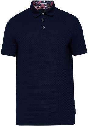 Men's Eskimo Textured Cotton Polo Shirt