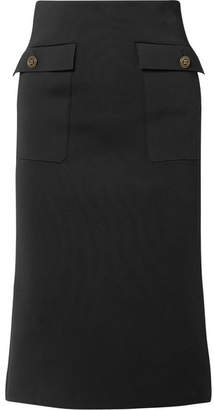Givenchy Crepe Midi Skirt - Black