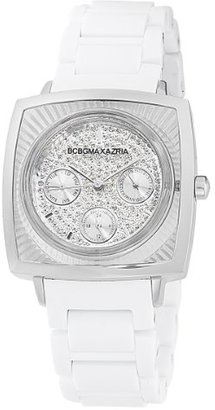 BCBGMAXAZRIA (ビーシービージーマックスアズリア) - BCBGMAXAZRIA Women 's bg8229 Elite Sport White Rubber Watch