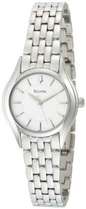 Bulova Women's 96L132 Silver Dial Bracelet Watch
