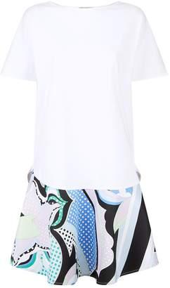 Emilio Pucci Peplum T-Shirt Dress