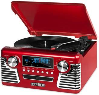 DAY Birger et Mikkelsen Victrola 50's Retro Bluetooth Record Player with CD Player