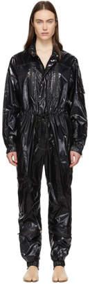 Maison Margiela Black Shiny Superlight Jumpsuit