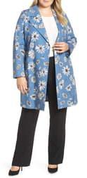 Marina Rinaldi Troupe Floral Print Raincoat