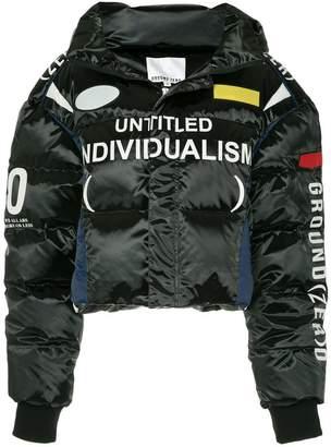 Ground Zero zipped padded jacket