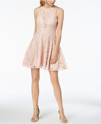 Xscape Evenings Petite Sleeveless Fit & Flare Lace Dress