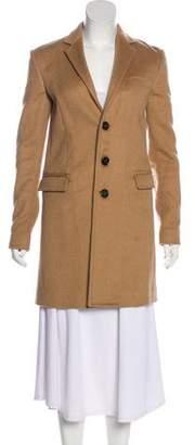 DSQUARED2 Notch-Lapel Button-Up Coat