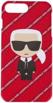 Karl Lagerfeld (カール ラガーフェルド) - Karl Lagerfeld Karl Ikonik Stripe iPhone + case