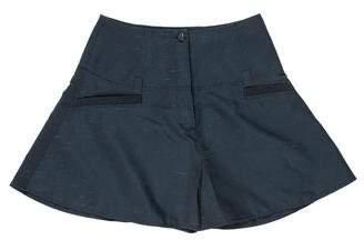 Kenzo High-Waist Flare Shorts