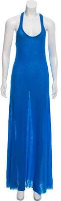 Jean Paul Gaultier Soleil Mesh Maxi Dress