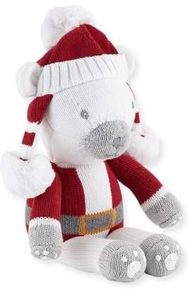 "Zubels Boys' Polar Bear Santa Doll, 14"""