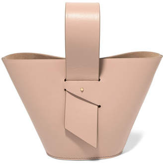 Carolina Santo Domingo - Amphora Mini Leather Tote - Blush