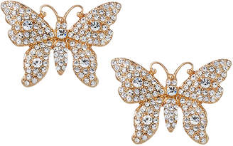 Natasha Accessories Limited Butterfly Stud Earrings