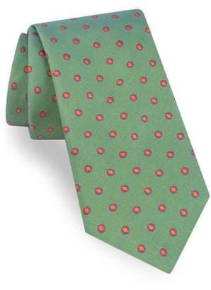 Men's Ted Baker London Dot Silk Tie $95 thestylecure.com