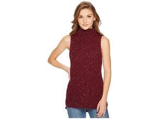 Kensie Twisted Slub Sleeveless Sweater KSNK5760 Women's Sweater