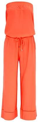 Heidi Klein Havana Coral Jersey Jumpsuit
