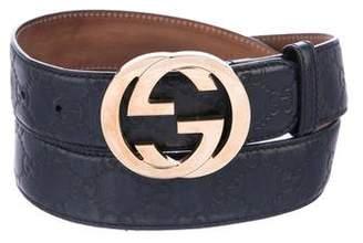 Gucci GG Guccissima Belt