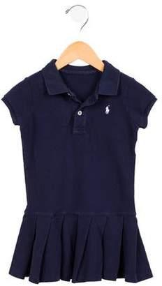Ralph Lauren Girls' Polo Collar Dress