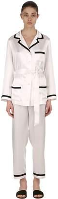 Silk Satin Pajama Set