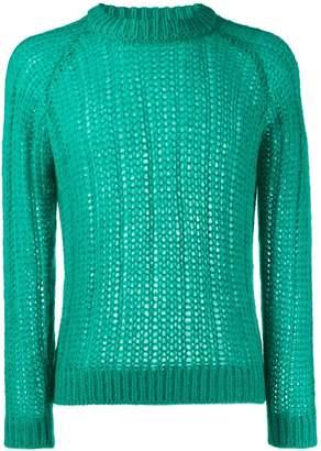 Prada cable knit jumper