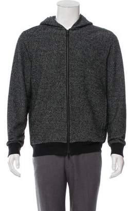 Theory Knit Zip-Up Sweater