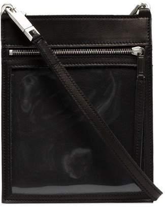 Rick Owens black security pocket wallet