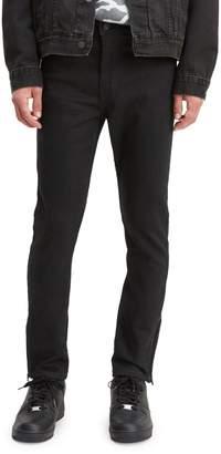 Levi's 510 Stylo Zip-Leg Skinny Dark Jeans