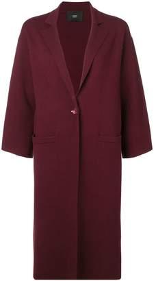 Steffen Schraut wide sleeves cardi-coat