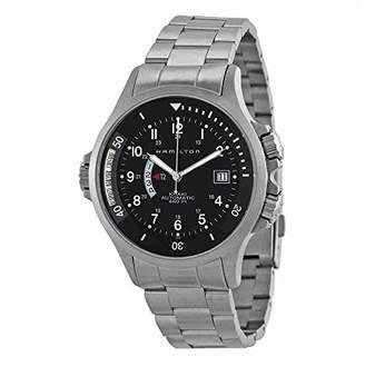 Hamilton Men's H77615133 Navy GMT Dial Watch