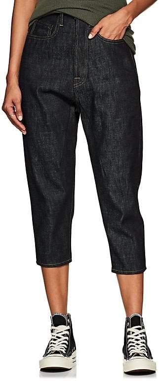 Women's High-Waist Straight Jeans