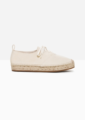 Other Stories Canvas Espadrille Sneaker
